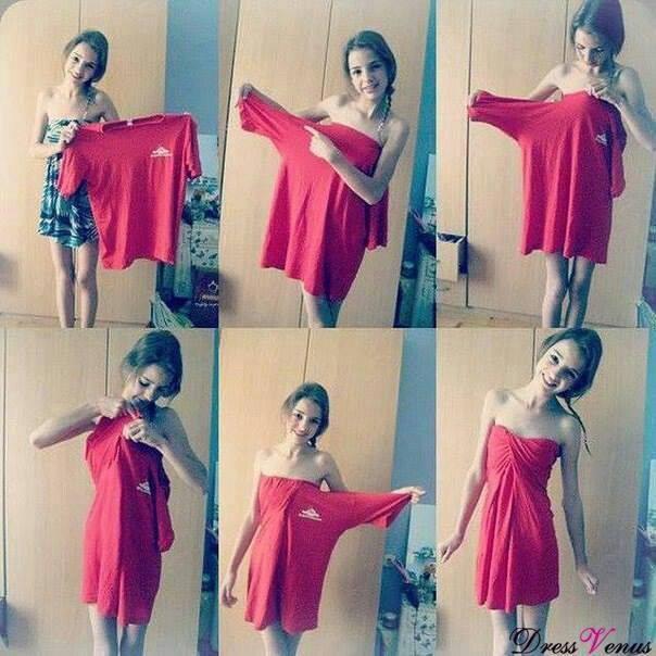 MIS TRUCOS Recicla-tus-camisetas-y-hazte-bonitos-vestidos