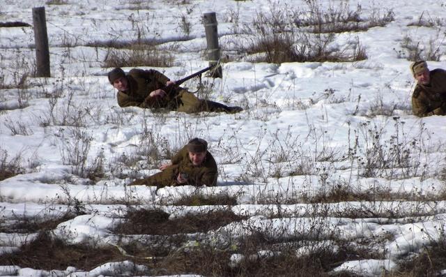 Ковровский район, тактическое поле Н-ской воинской части, манёвры, 23 марта E70479c5
