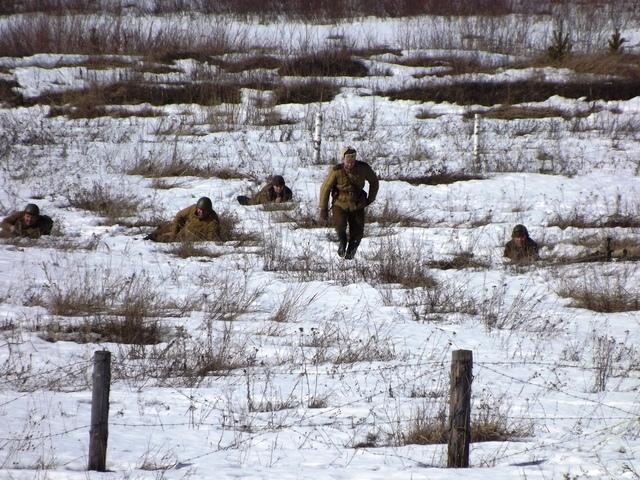Ковровский район, тактическое поле Н-ской воинской части, манёвры, 23 марта 450479c5