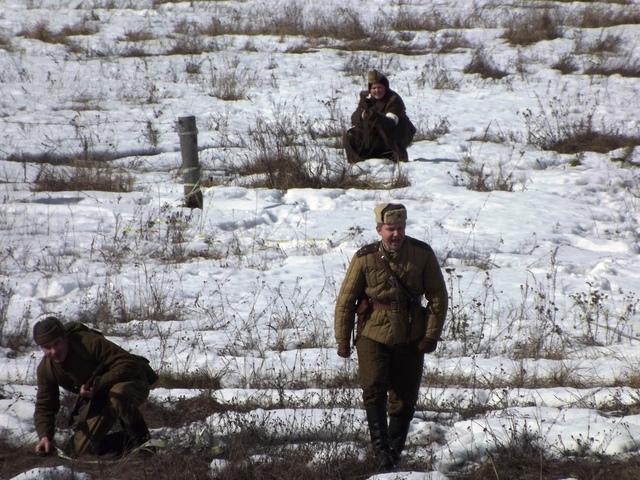 Ковровский район, тактическое поле Н-ской воинской части, манёвры, 23 марта A21479c5