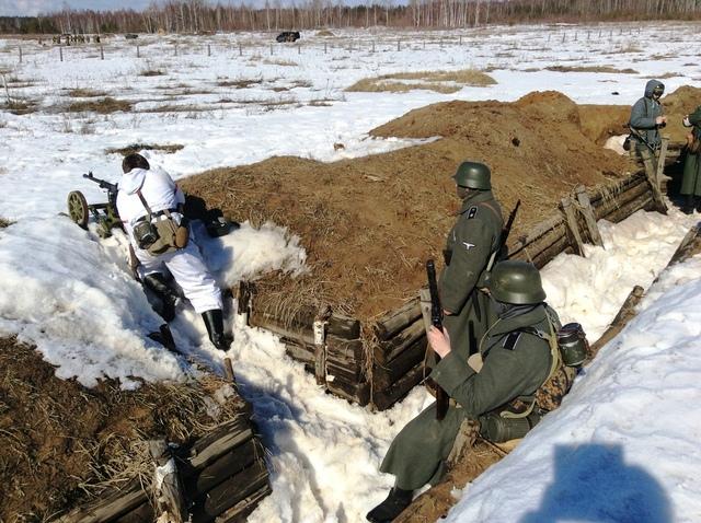 Ковровский район, тактическое поле Н-ской воинской части, манёвры, 23 марта C41479c5