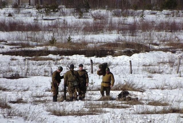 Ковровский район, тактическое поле Н-ской воинской части, манёвры, 23 марта 950479c5