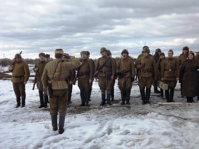 Ковровский район, тактическое поле Н-ской воинской части, манёвры, 23 марта E50479c5