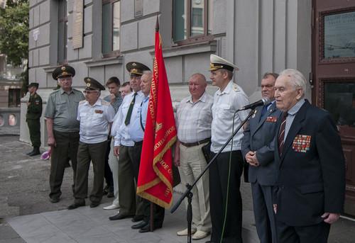22 июня 2016 год, открытие мемориальной доски генерал-майору Ерёмину С.И. 8c4dc675
