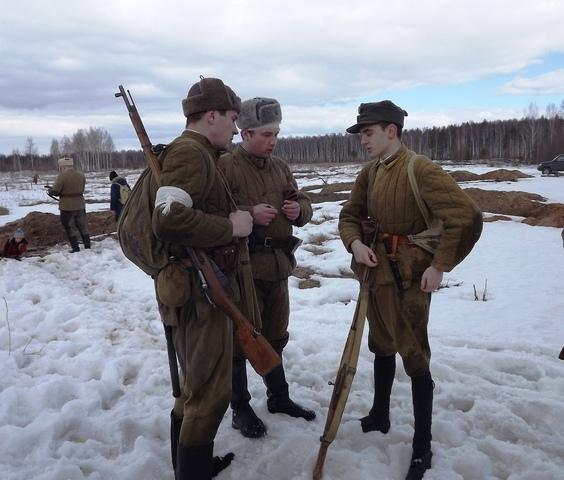Ковровский район, тактическое поле Н-ской воинской части, манёвры, 23 марта 731479c5