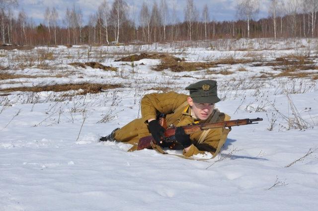 Ковровский район, тактическое поле Н-ской воинской части, манёвры, 23 марта 05ec79c5