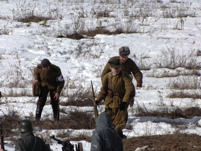 Ковровский район, тактическое поле Н-ской воинской части, манёвры, 23 марта F60479c5
