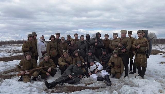 Ковровский район, тактическое поле Н-ской воинской части, манёвры, 23 марта C60479c5