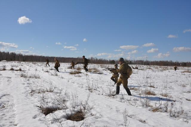 Ковровский район, тактическое поле Н-ской воинской части, манёвры, 23 марта 65ec79c5