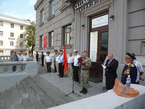 22 июня 2016 год, открытие мемориальной доски генерал-майору Ерёмину С.И. 00825875