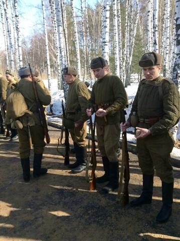 Ковровский район, тактическое поле Н-ской воинской части, манёвры, 23 марта 821479c5