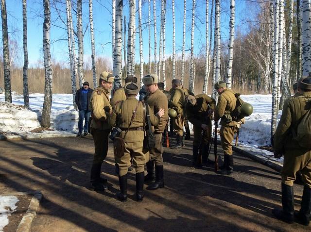 Ковровский район, тактическое поле Н-ской воинской части, манёвры, 23 марта 150479c5