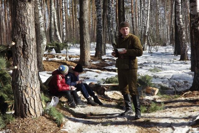 Ковровский район, тактическое поле Н-ской воинской части, манёвры, 23 марта 941479c5
