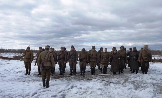 Ковровский район, тактическое поле Н-ской воинской части, манёвры, 23 марта F21479c5