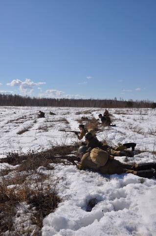 Ковровский район, тактическое поле Н-ской воинской части, манёвры, 23 марта 35ec79c5