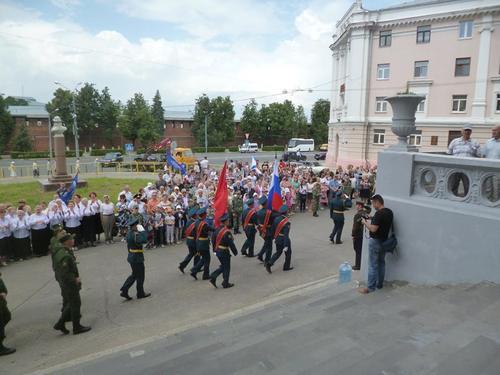 22 июня 2016 год, открытие мемориальной доски генерал-майору Ерёмину С.И. 80825875