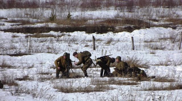 Ковровский район, тактическое поле Н-ской воинской части, манёвры, 23 марта 641479c5
