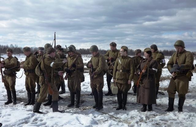 Ковровский район, тактическое поле Н-ской воинской части, манёвры, 23 марта 551479c5
