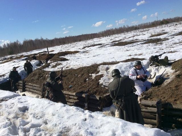 Ковровский район, тактическое поле Н-ской воинской части, манёвры, 23 марта 170479c5