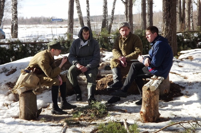 Ковровский район, тактическое поле Н-ской воинской части, манёвры, 23 марта 470479c5