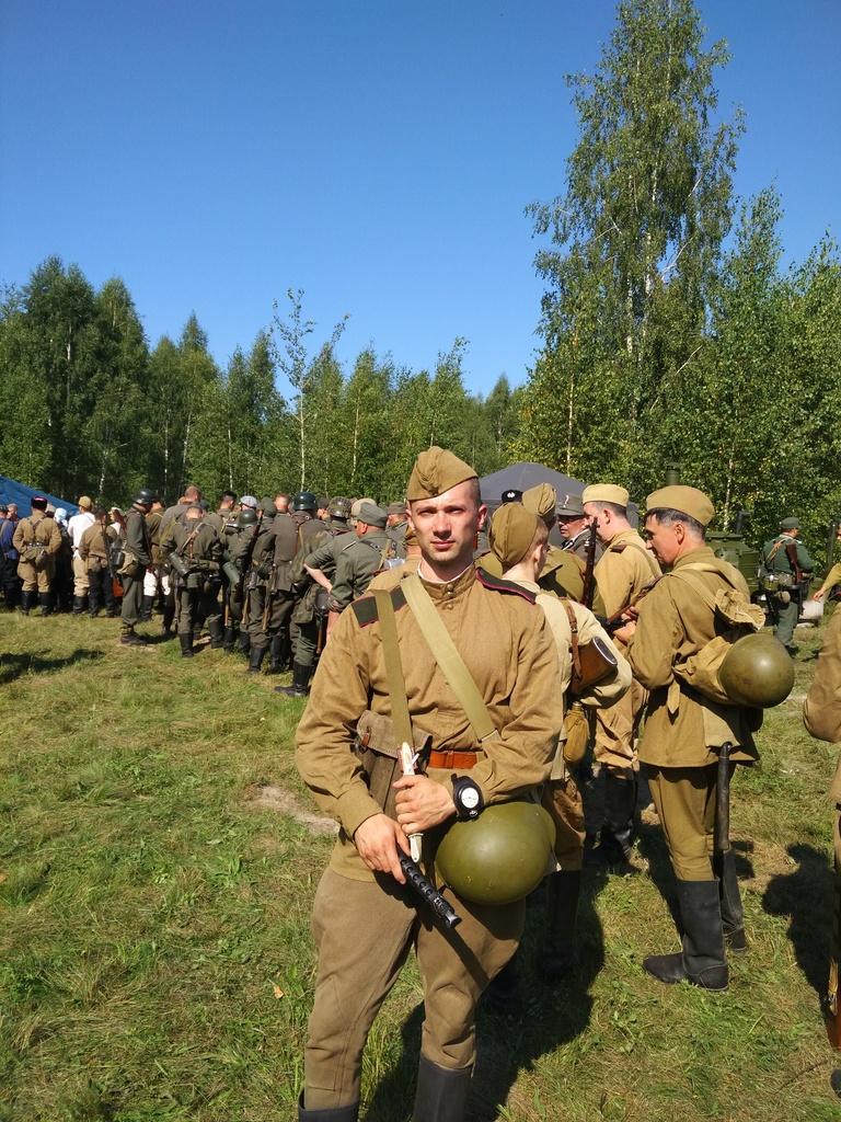 Освобождение Жиздры. 1943 г.  (16-19 августа 2018) Adf408b5