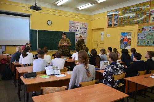 Лекция в школе № 2 г. Кстово A19120e5