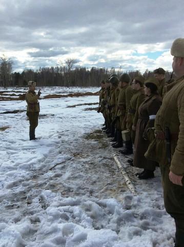 Ковровский район, тактическое поле Н-ской воинской части, манёвры, 23 марта 260479c5