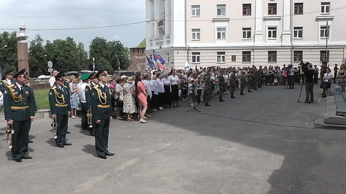 22 июня 2016 год, открытие мемориальной доски генерал-майору Ерёмину С.И. 71825875