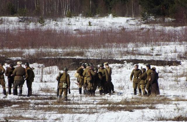 Ковровский район, тактическое поле Н-ской воинской части, манёвры, 23 марта 441479c5