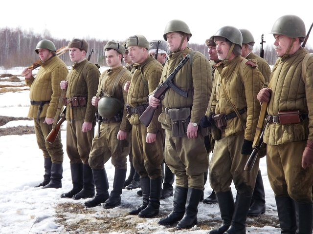 Ковровский район, тактическое поле Н-ской воинской части, манёвры, 23 марта B70479c5