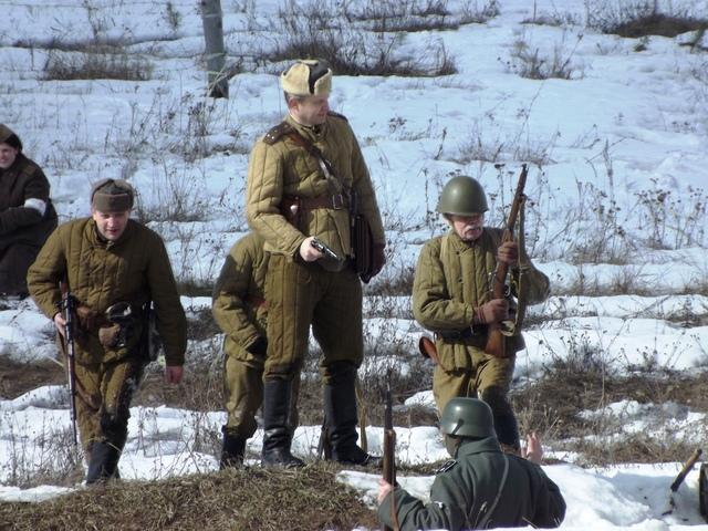 Ковровский район, тактическое поле Н-ской воинской части, манёвры, 23 марта B50479c5
