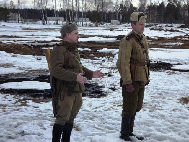 Ковровский район, тактическое поле Н-ской воинской части, манёвры, 23 марта 460479c5
