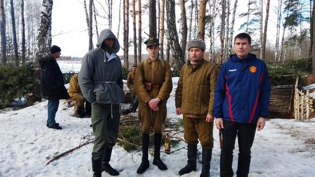Ковровский район, тактическое поле Н-ской воинской части, манёвры, 23 марта 650479c5