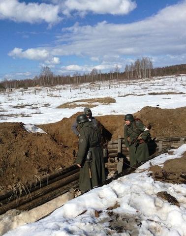 Ковровский район, тактическое поле Н-ской воинской части, манёвры, 23 марта 960479c5