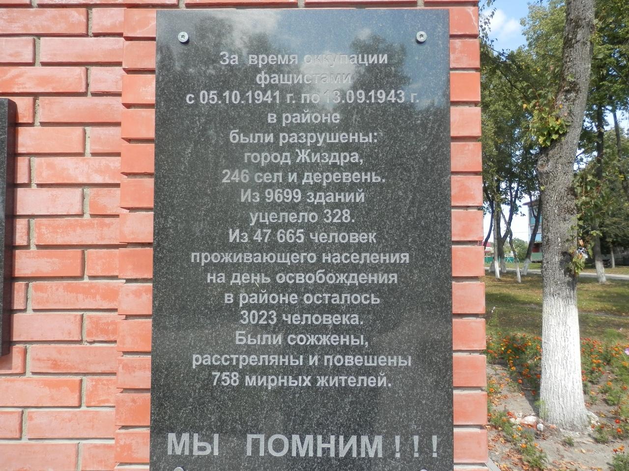Освобождение Жиздры. 1943 г.  (16-19 августа 2018) 4f1508b5