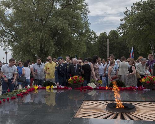 22 июня 2016 год, открытие мемориальной доски генерал-майору Ерёмину С.И. Ac4dc675