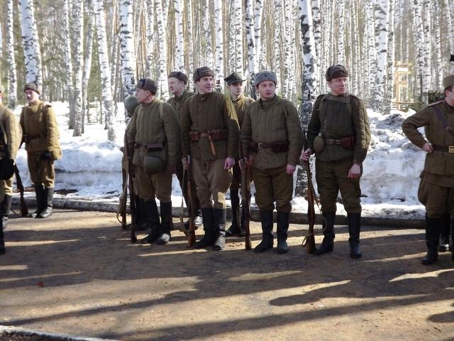 Ковровский район, тактическое поле Н-ской воинской части, манёвры, 23 марта 231479c5