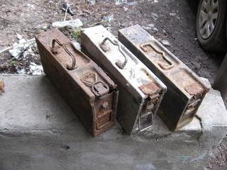 Ящики для пулемётных лент Вермахт. 4977b075