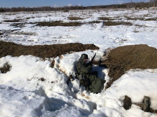 Ковровский район, тактическое поле Н-ской воинской части, манёвры, 23 марта D21479c5