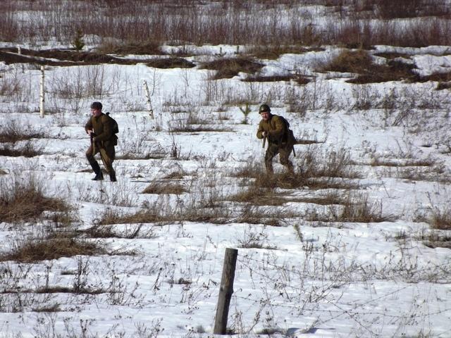 Ковровский район, тактическое поле Н-ской воинской части, манёвры, 23 марта F41479c5