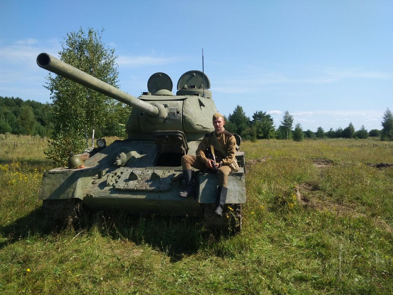 Освобождение Жиздры. 1943 г.  (16-19 августа 2018) E30508b5