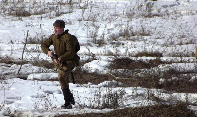 Ковровский район, тактическое поле Н-ской воинской части, манёвры, 23 марта 970479c5