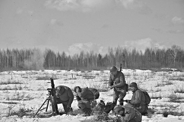 Ковровский район, тактическое поле Н-ской воинской части, манёвры, 23 марта A5ec79c5