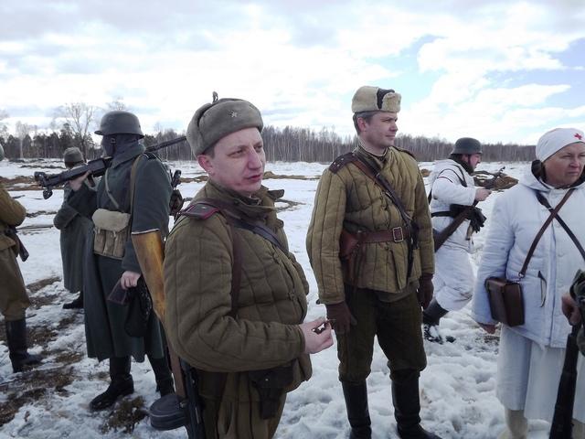Ковровский район, тактическое поле Н-ской воинской части, манёвры, 23 марта 670479c5