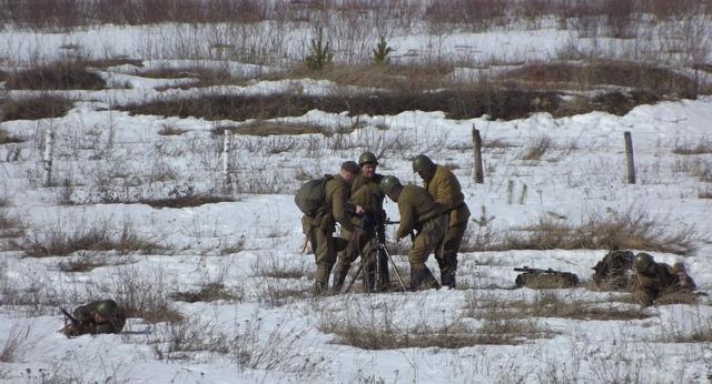 Ковровский район, тактическое поле Н-ской воинской части, манёвры, 23 марта 251479c5
