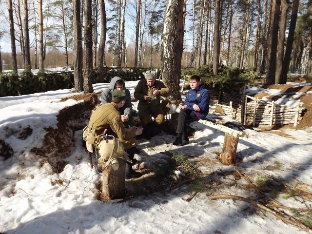 Ковровский район, тактическое поле Н-ской воинской части, манёвры, 23 марта A31479c5