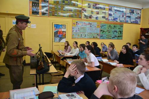 Лекция в школе № 2 г. Кстово F19120e5