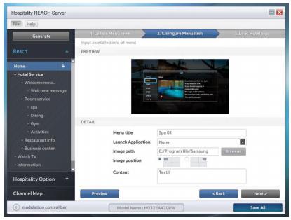 Giải pháp quản lý nội dung truyền hình thông qua cáp RF (DVB-C) GUI