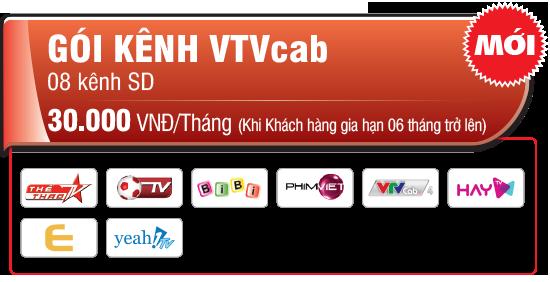 VTC thu phí gói kênh VTVCab từ ngày 1/6/2015 VTVcab