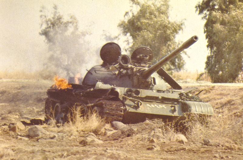 guerra - La guerra de los 6 dias T55